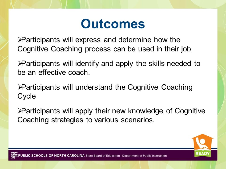 Cognitive Coaching Professional Conversations Focused on Educator