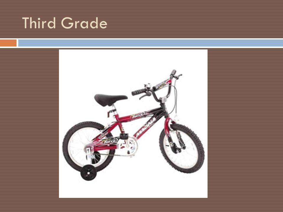 Bicycle Analogy 6 Th Grade Spectrum Kindergarten 2 Nd Grade Ppt