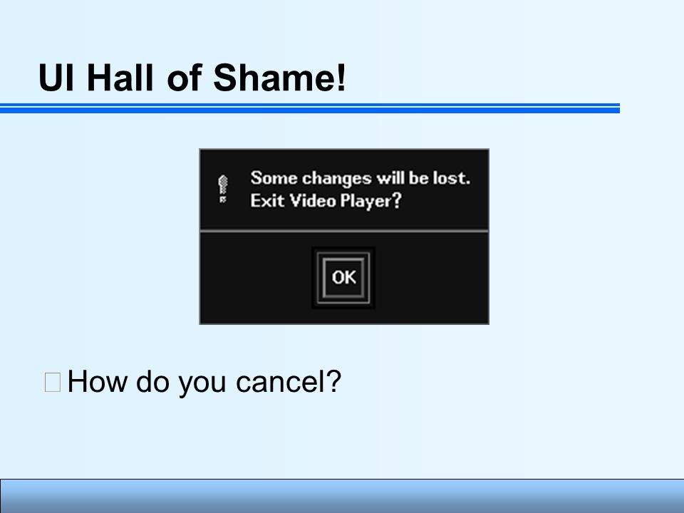 Human Computer Interface Lecture1 Introduction Ui Hall Of Fame Or Hall Of Shame Ppt Download
