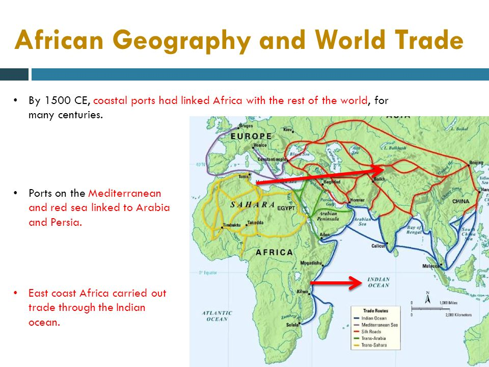 SOCIETIES OF WEST AFRICA U.S. History. Physical Map of Africa Sahara ...