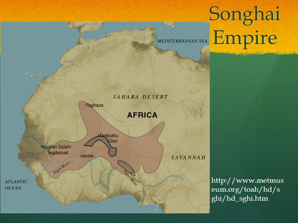 Songhai Africa Map.Songhai Empire Map Resources World History Unit 2 Module 1 Lesson