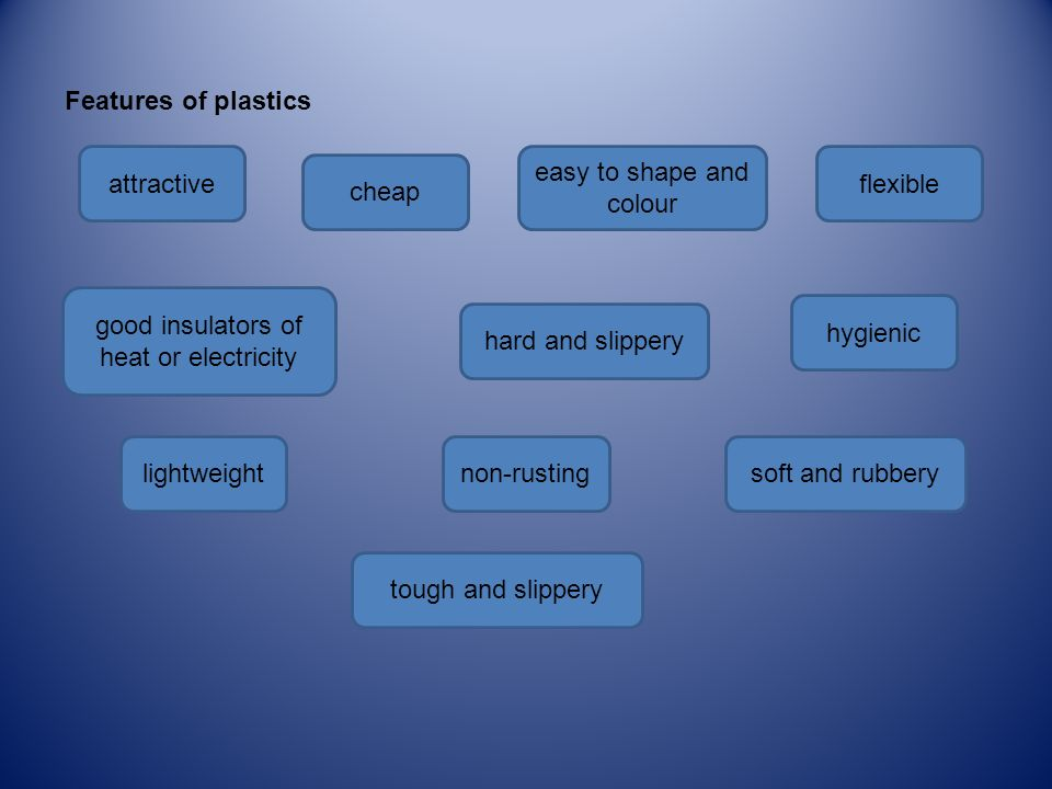Plastics A  Plastic is a common name for polymers: materials