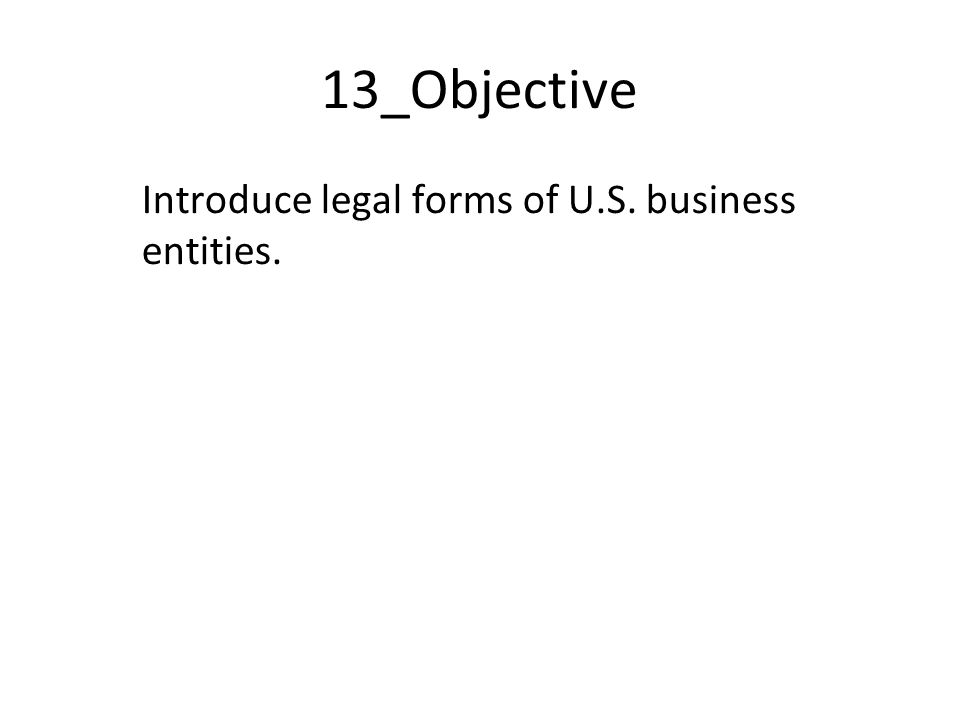 Survey Of Entrepreneurship Class Introduction To US Legal - Us legal forms