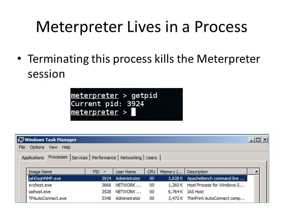 meterpreter kill avast