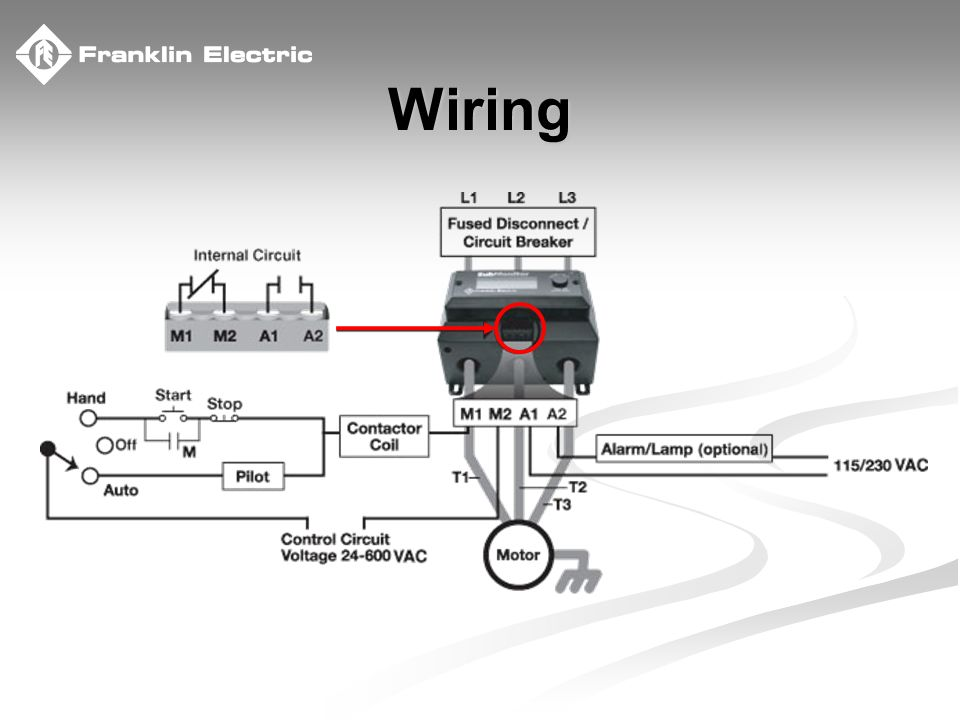 franklin electric - the company you trust deep down provides the ultimate  protection for your pump & motor! franklin submonitor. - ppt download  slideplayer