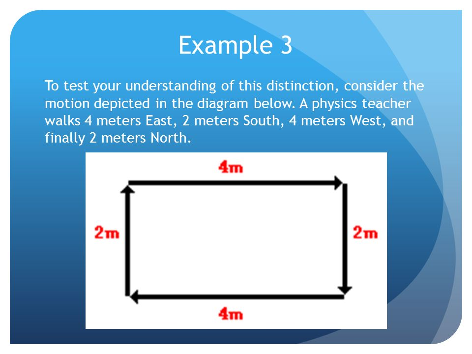 Distance And Displacement Examples Distance Is A Scalar Quantity That Refers To How Much Ground An Object Has Covered During Its Motion Scalar Quantity Ppt Download