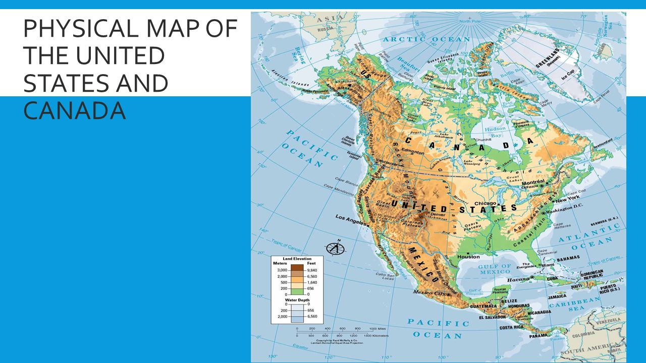 THE PHYSICAL GEOGRAPHY OF THE UNITED STATES AND CANADA: THE ...