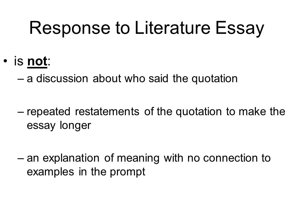 Essay English Example  Computer Science Essay also Essay Examples English Objective C Compose Responses To Literature Clearly  Research Paper Essay
