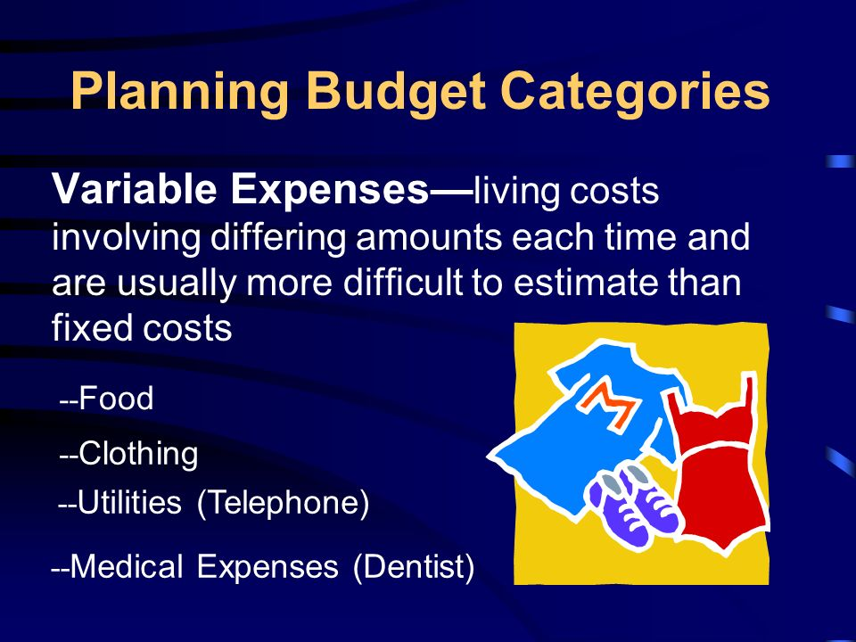 budgeting techniques key terms budget fixed expenses allowance