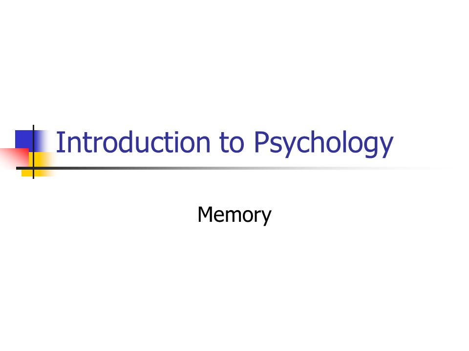 introduction to psychology the beginning and As a first step he laid out an action plan for the apa's presidential task force to set some ground work for a more positive psychology (seligman, 1998 seligman & csikszentmihalyi, 2000) -he just did what people in the field should have done in the 80s.