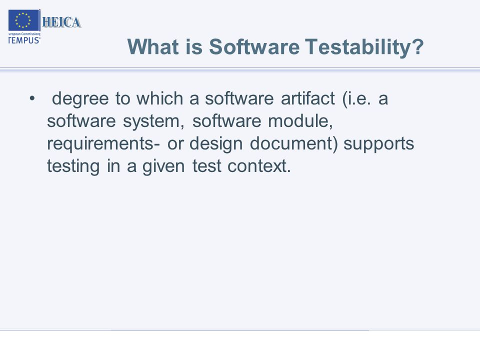 Software Testing Techniques Software Testing Techniques Software Testability Presentation On The Seminar Kaunas University Of Technology Ppt Download