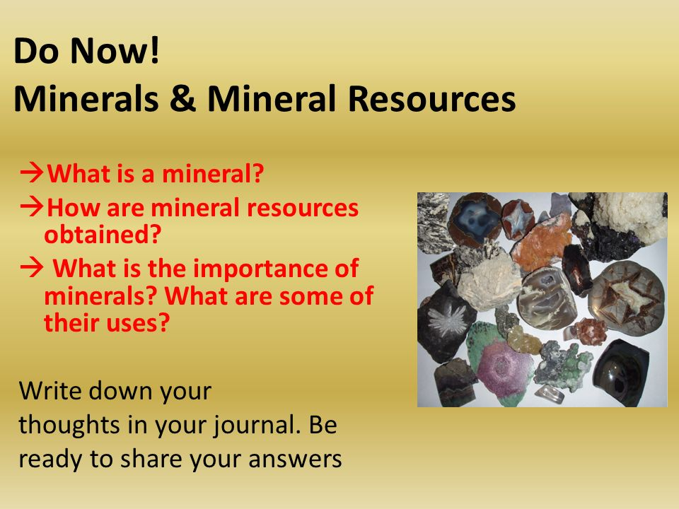 Introduction to the Mineral Exploration Activity  - ppt download