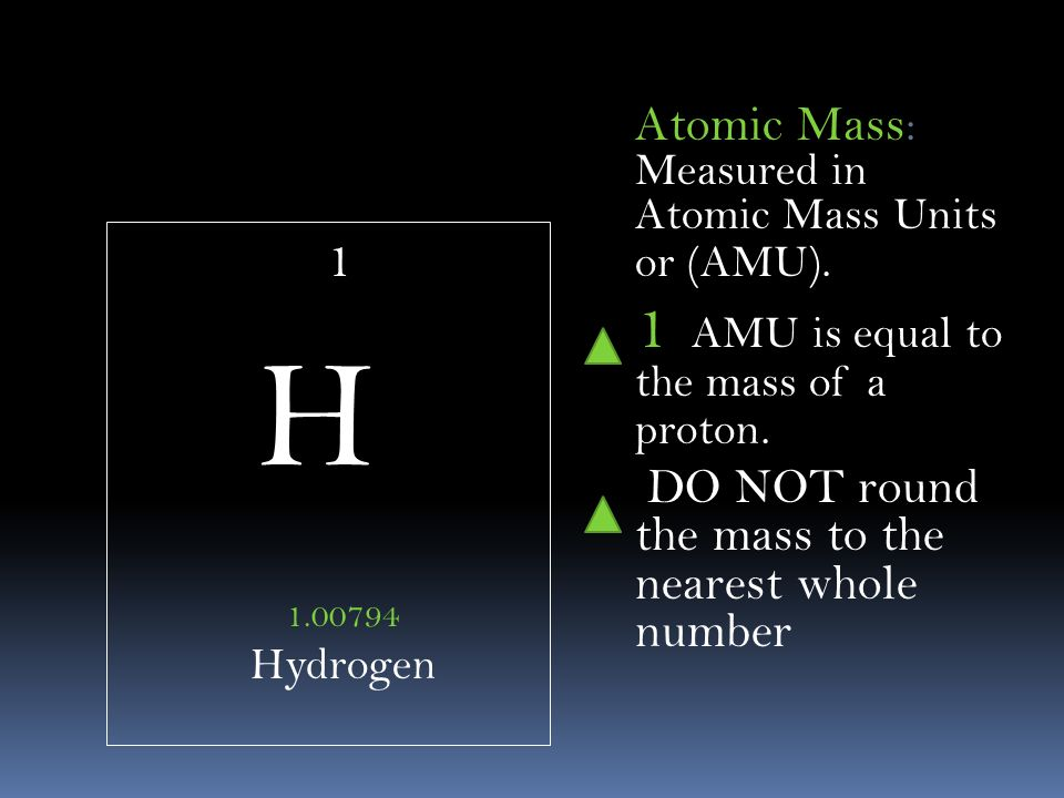 Webelements a periodic table on the web periodic table of elements 1 h 100794 hydrogen atomic mass measured in atomic mass units or amu urtaz Choice Image