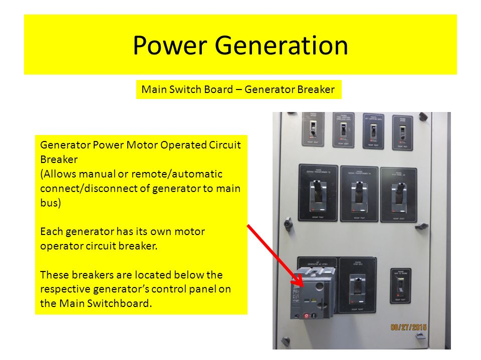 A/C Power Systems General Locations. This module will cover the ...