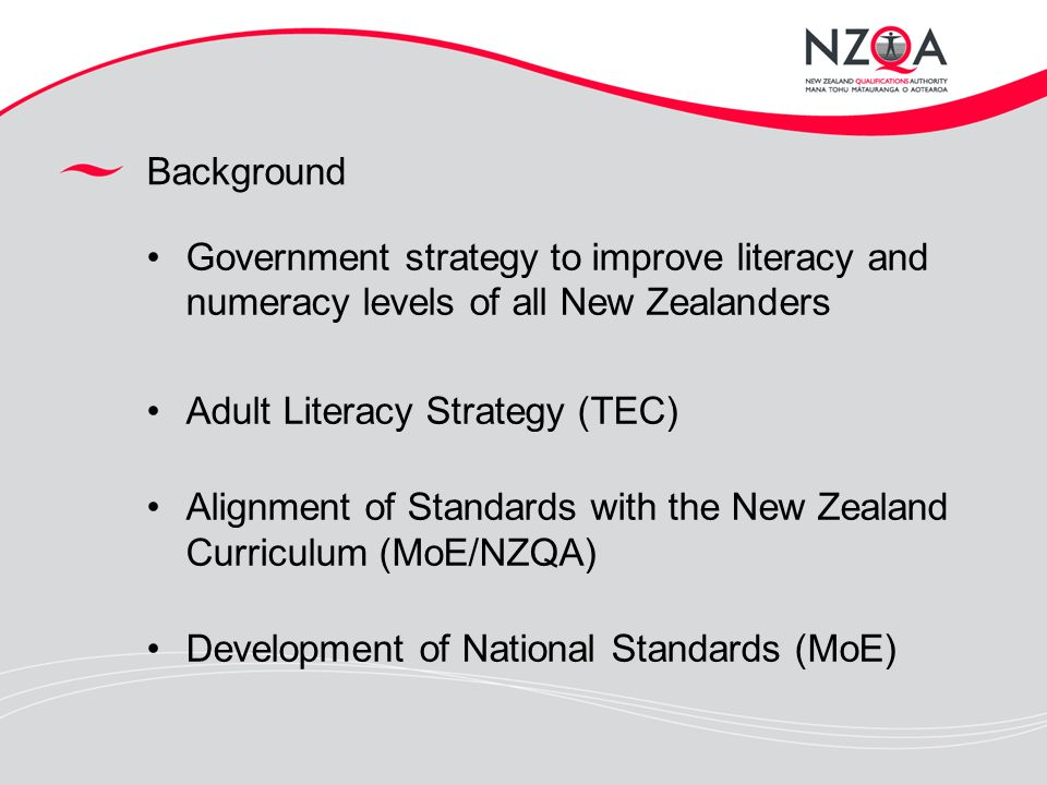 Talented adult literacy in new zealand
