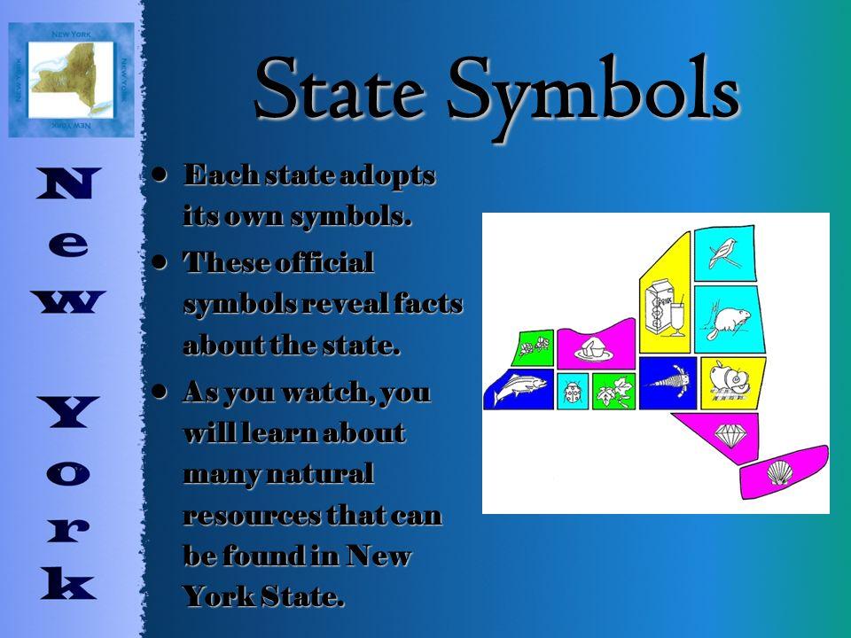 New York State Symbols By Mrs Ardalan State Symbols Each State