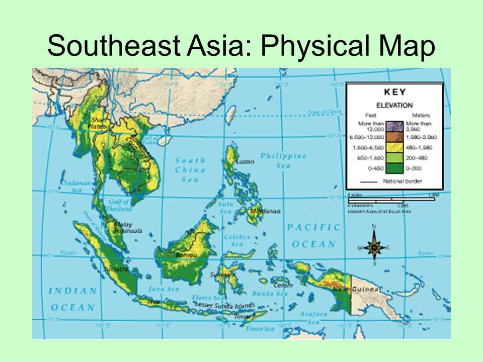Chapter 3 Southeast Asia and the Pacific Region: Physical ...