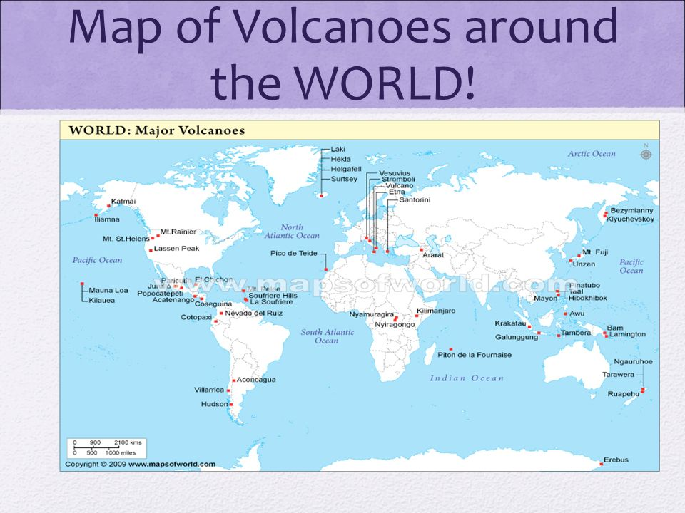Map Of Volcanoes Around The World Volcano Discovery Ea Ea This