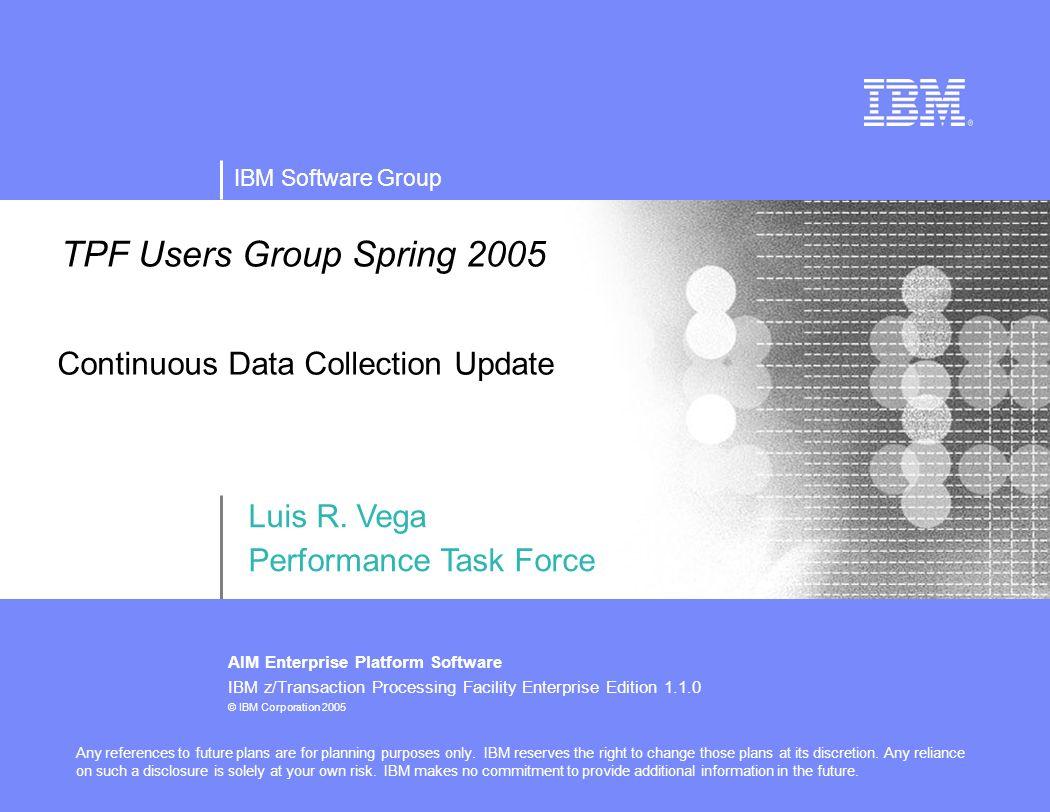 IBM Software Group AIM Enterpr...