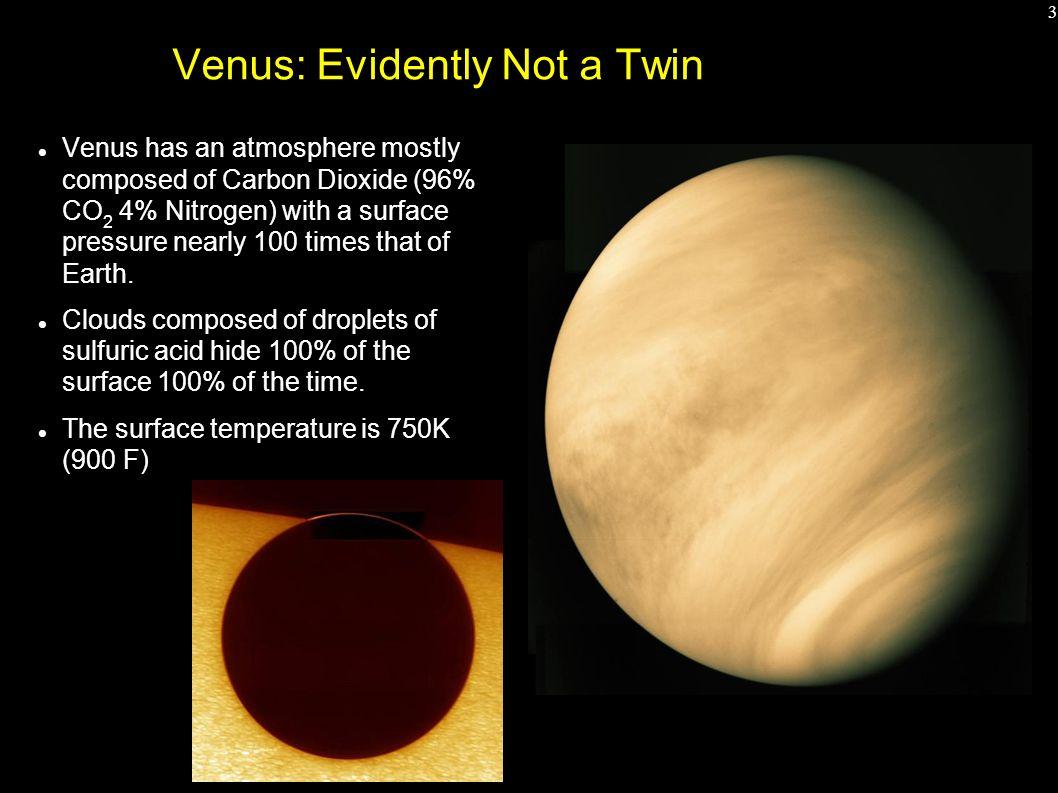 venus atmosphere vs earth atmosphere - HD1058×793