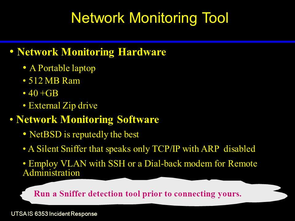 Lesson 14 Network Monitoring System Restoration Incident