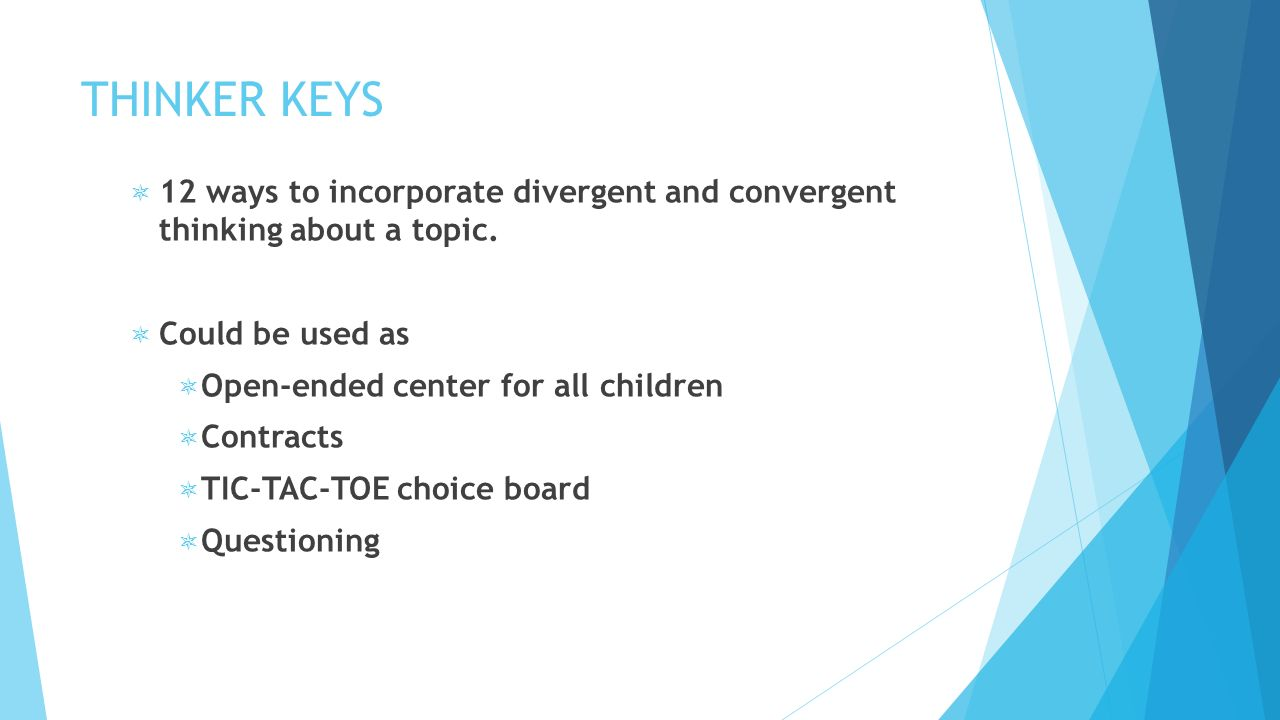 Advanced Curriculum Guides A Brief Overview Who What Why Created