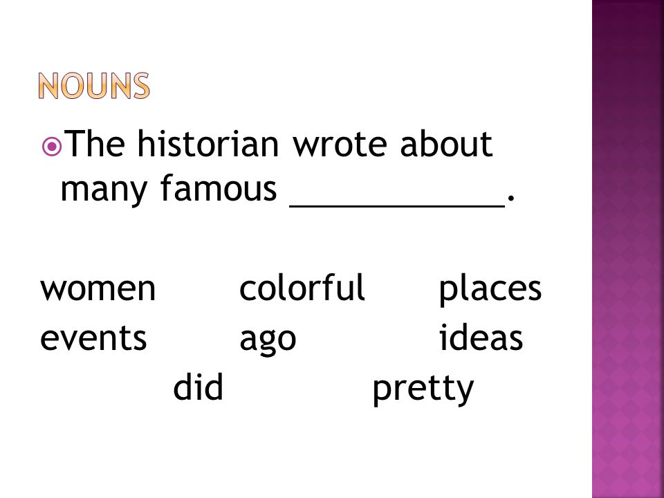  The historian wrote about many famous. womencolorfulplaces eventsagoideas didpretty