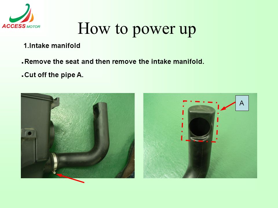 BR400 UD  How to power up Modifying Parts: 3 Exhaust Muffler