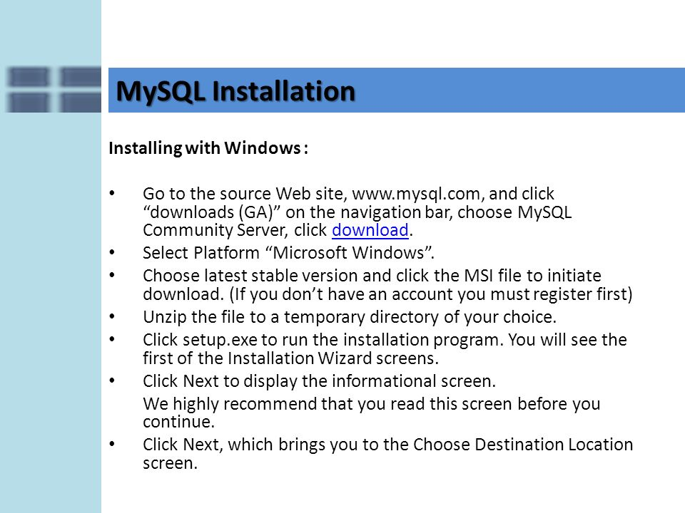 Apache, MySQL and PHP Installation and Configuration Chapter