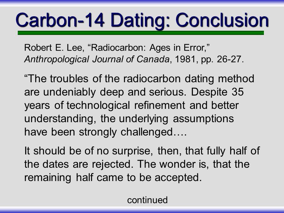Carbon dating method ppt presentation