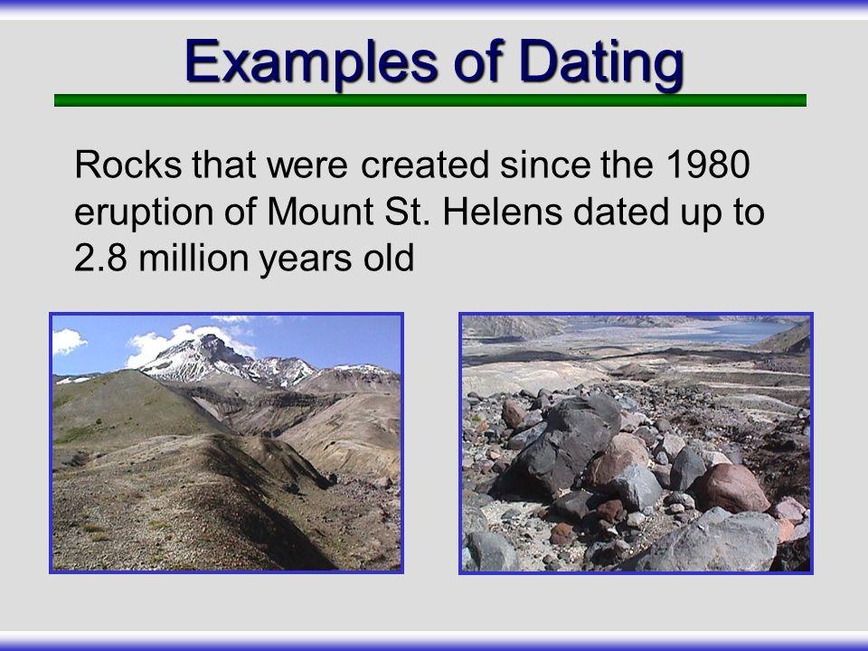 Mount St Helens Carbon dating store føtter dating