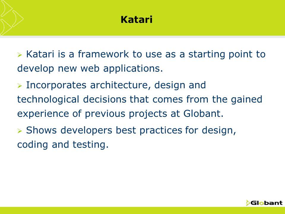 Katari Globant 2008 (update to 2010)  Katari  Katari is a