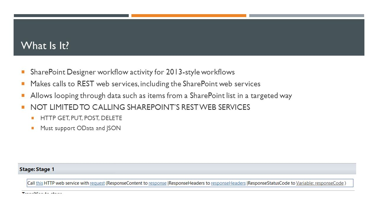 Working With The Call Http Web Service Workflow Activity Derek Nishino Nishino Consulting Ppt Download