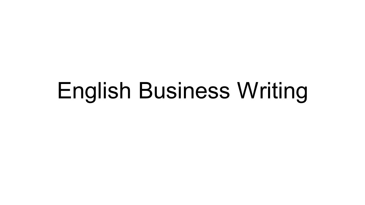 English business writing cover letter your response to the 1 english business writing stopboris Gallery