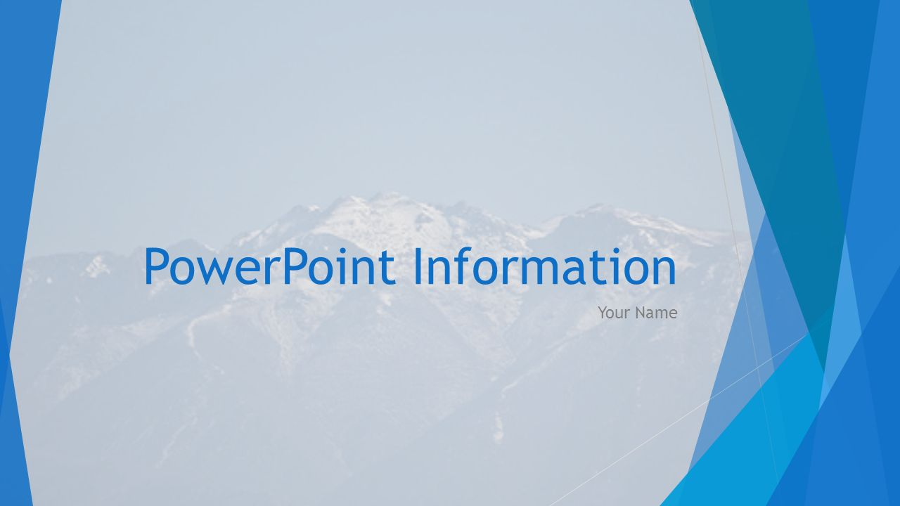 powerpoint information your name how to add a theme design tab