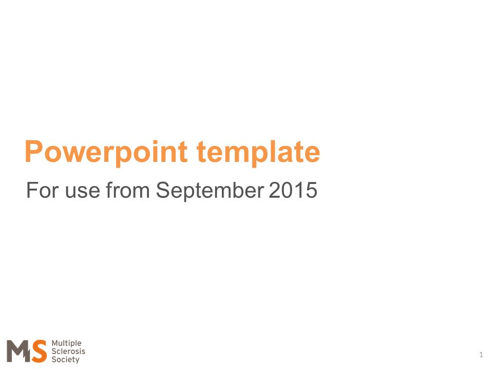 for use from september powerpoint template ppt download