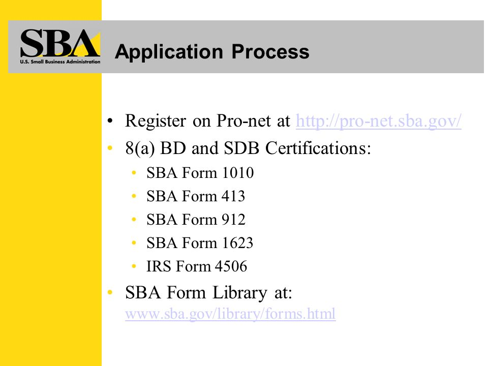 Program Certification For Small Businesses Objectives Certification