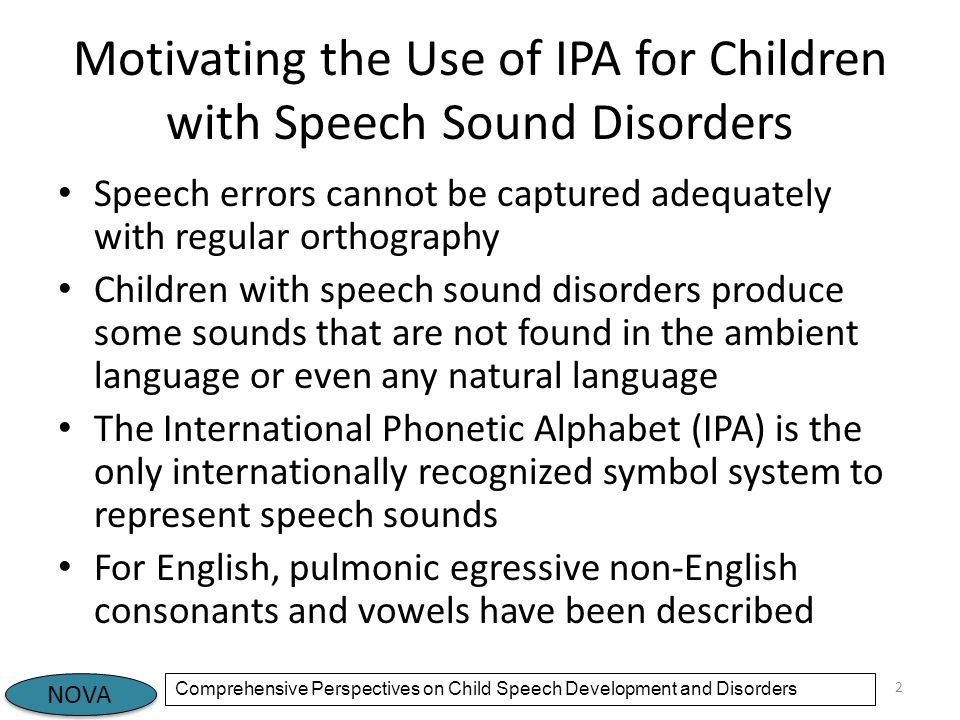 speech disorders Speech disorders monday, april 19, 2010 stuttering is probably the most severe and common speech disorder stuttering is a disorder in which words, sounds or syllables are frequently repeated.