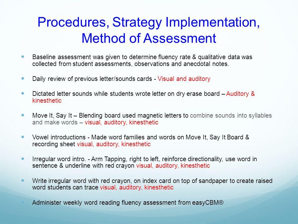 Multisensory Phonics Instruction & Oral Reading Fluency