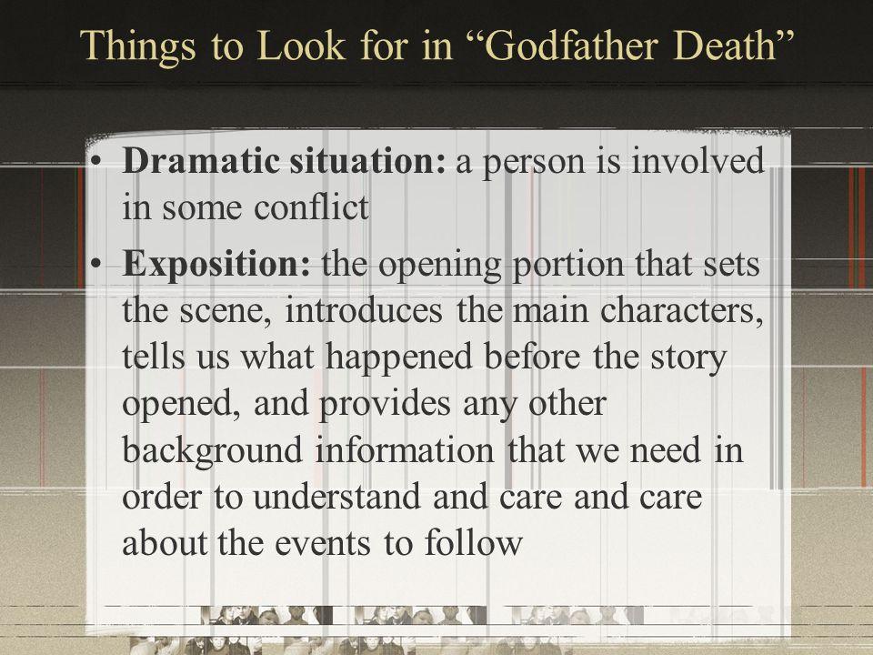 godfather death story