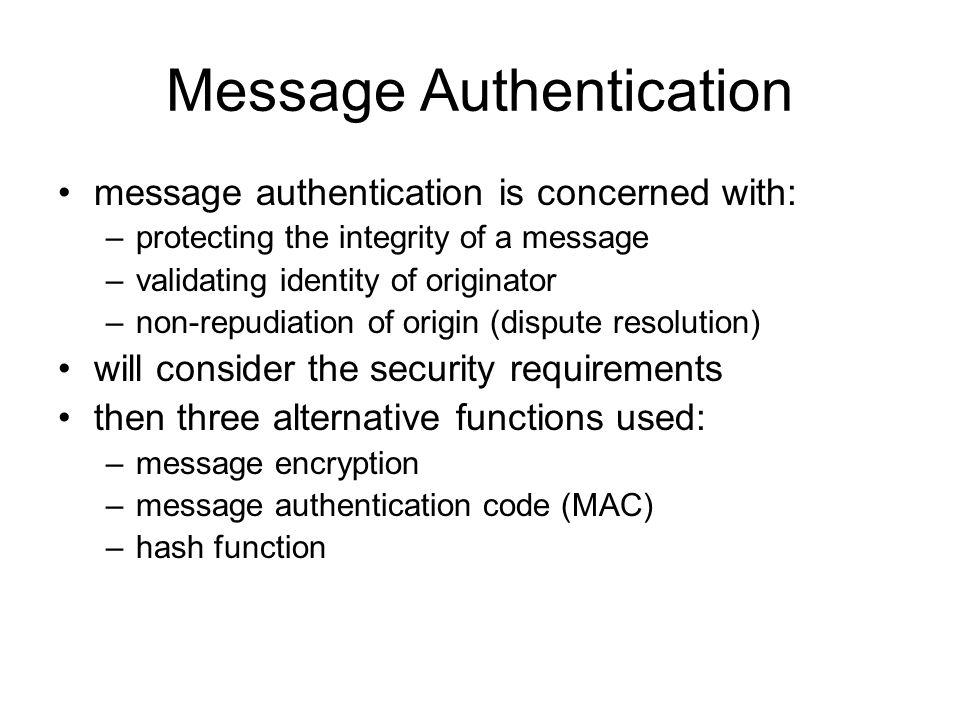 Network status validating identity