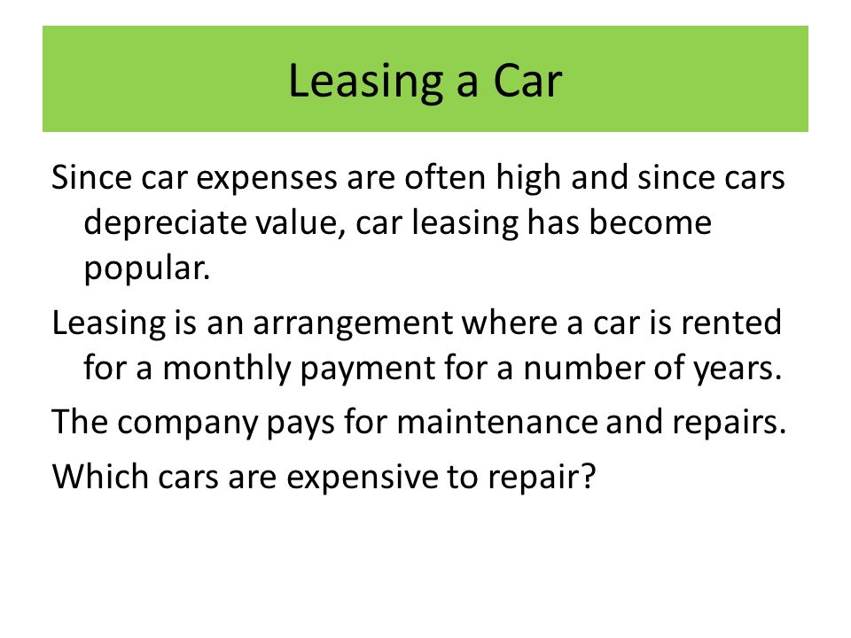 Ch Owning And Operating Costs Objective 1 Calculate Car Mileage Per