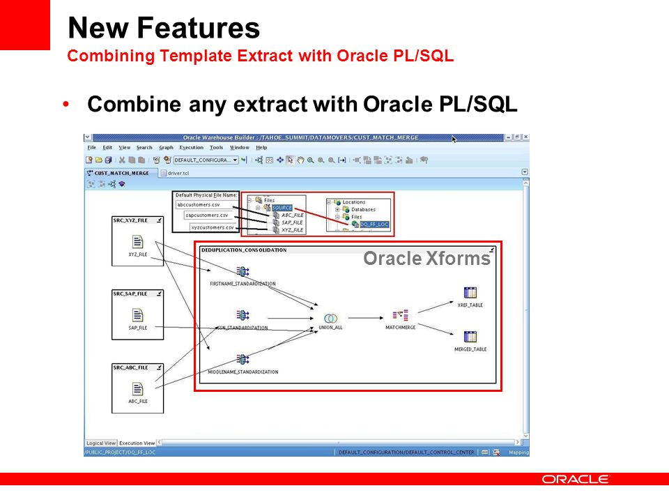 Oracle Warehouse Builder - Beta 1 New Features Jean-Pierre