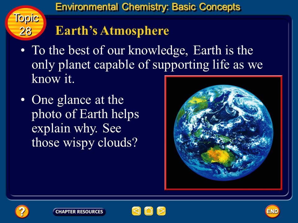 Environmental Chemistry at a Glance