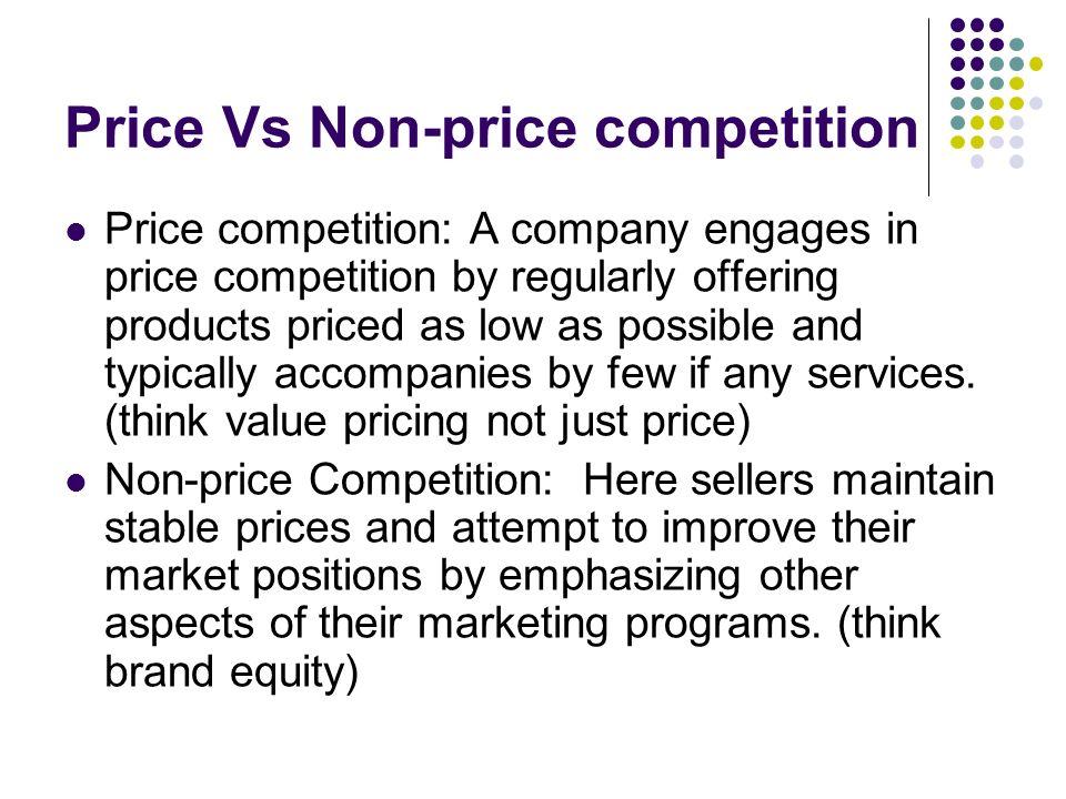non price