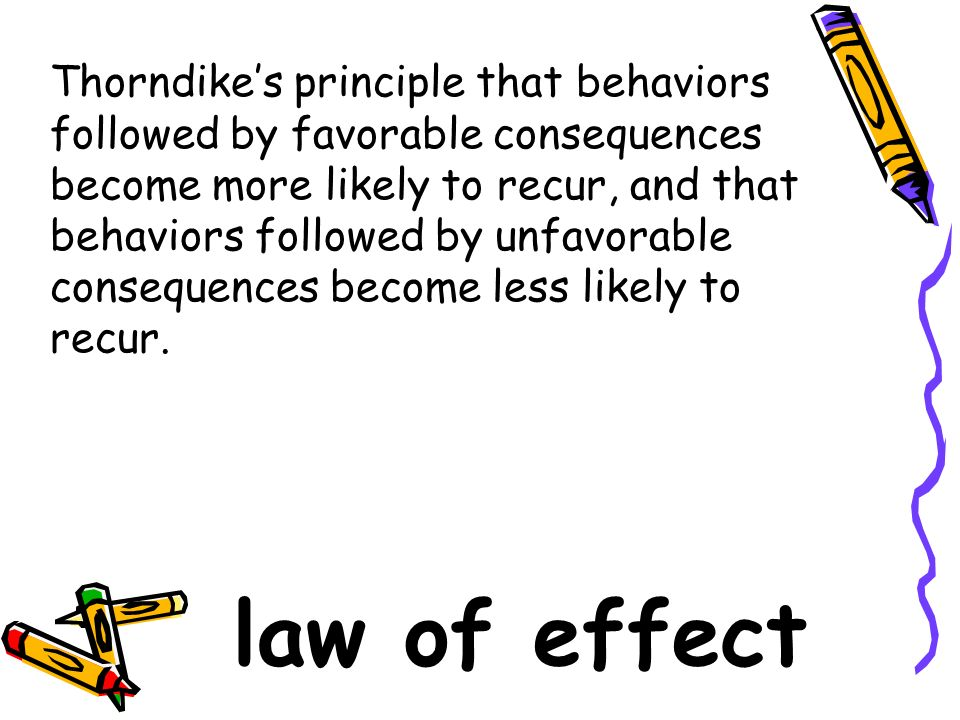 Favorable Consequences