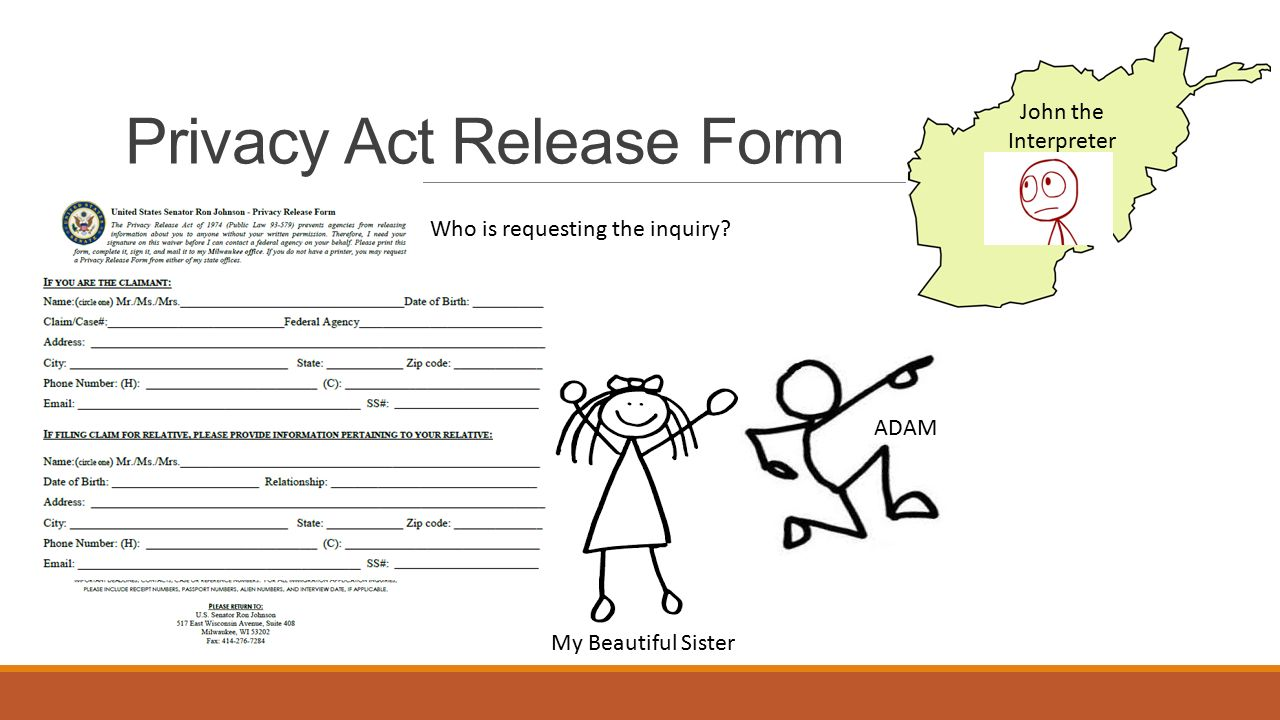 Captivating 8 Privacy Act Release Form ...