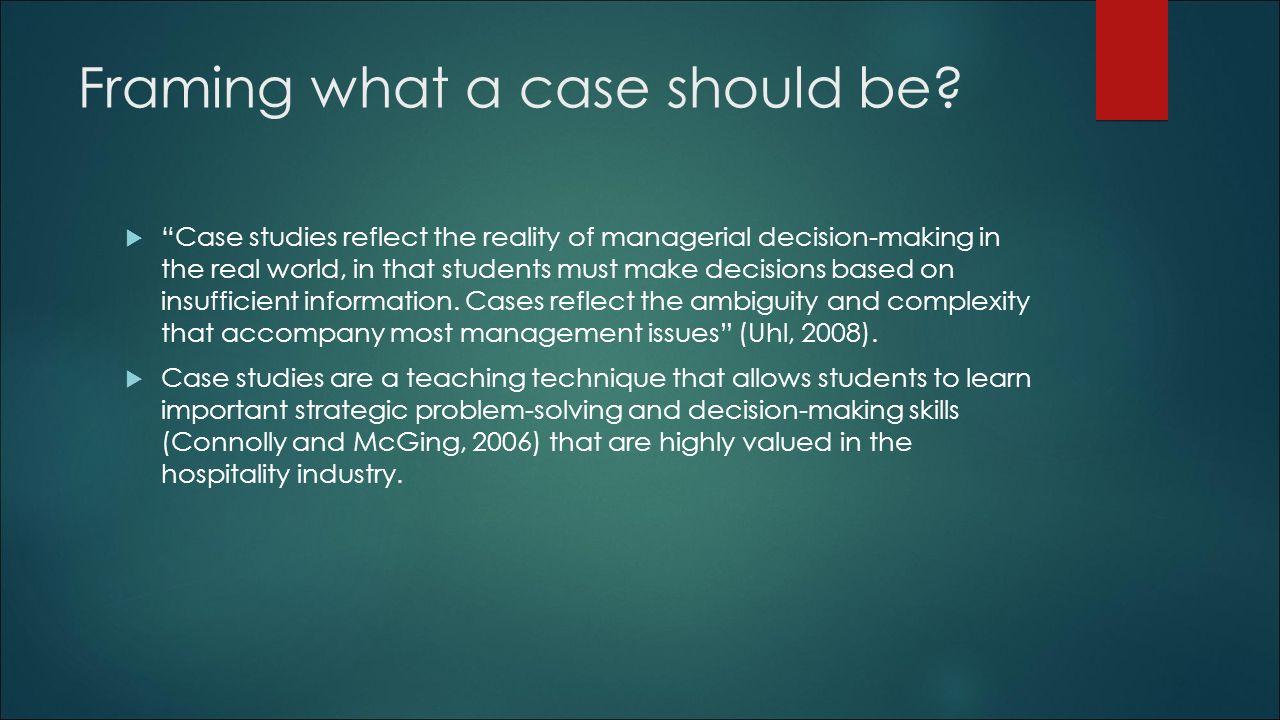 EuroCHRIE Case Panel Presentation R M  O'HALLORAN SCHOOL OF