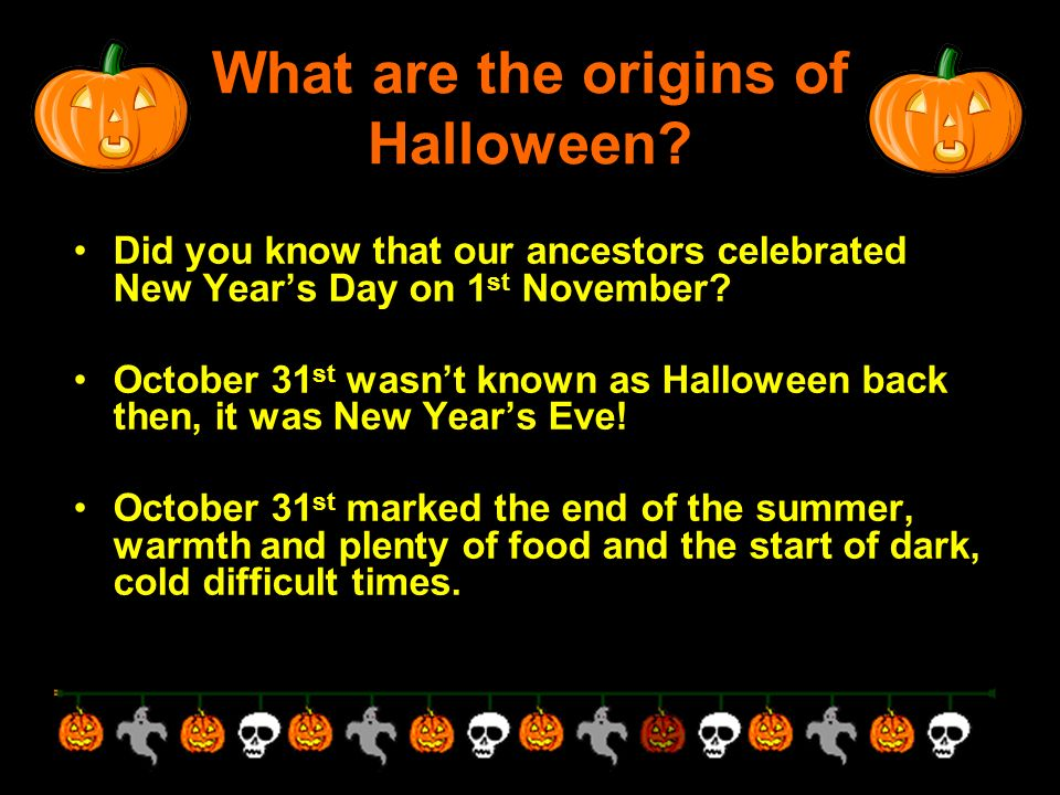 what are the origins of halloween knee to knee with a partner what do