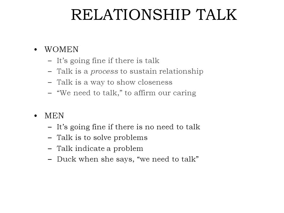 When should you have the relationship talk